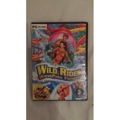 Wild Rides waterpark factory pc cd ROM