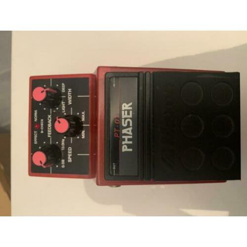 80 's Maxon PT-01 Phaser Pedal - bought and made In Japan